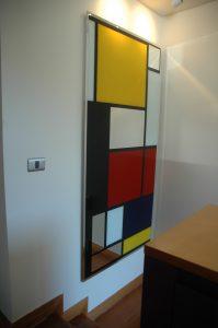 Espejo Mondrian